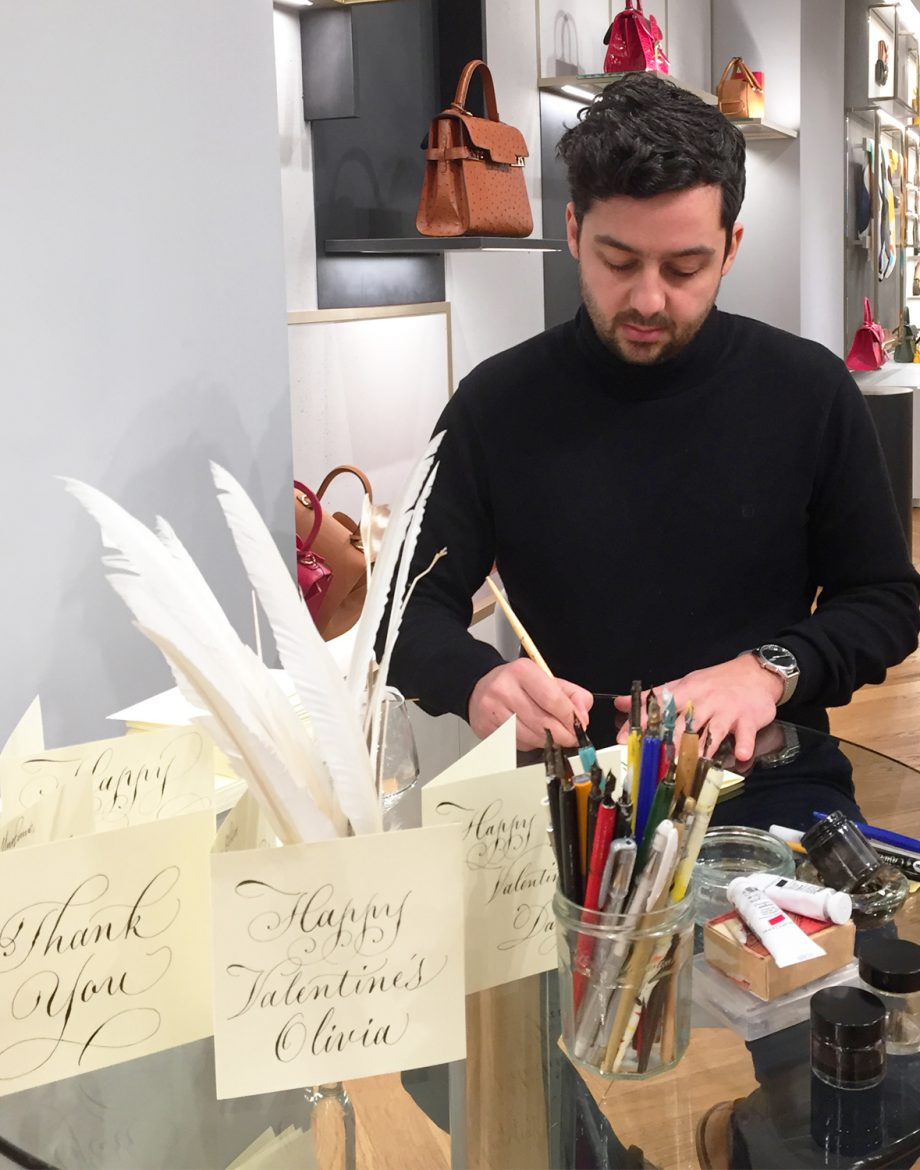 Angelo Meola, CALLIGRAPHY, calligrapher , london